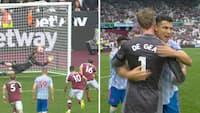 Shaw begår straffe i 92. minut - men de Gea redder tre point til United