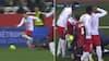 Dolbergs holdkammerat får direkte rødt efter vanvittig tackling