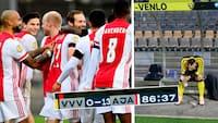 Ser i med FCM? Se alle 13 mål fra Ajax's vanvidssejr