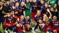 Vanvittig kamp: Barcelona smider 4-1-føring i UEFA Super Cup - Pedro bliver matchvinder i 115. minut