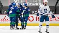 Canucks manglede svensk stjerne - men vandt alligevel over Frederik Andersen og Maple Leafs