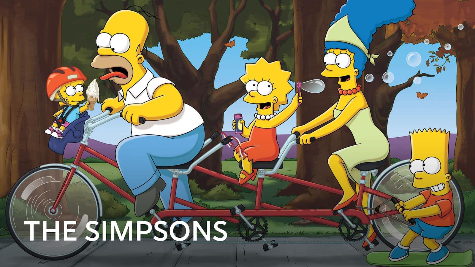 the simpsons viaplay