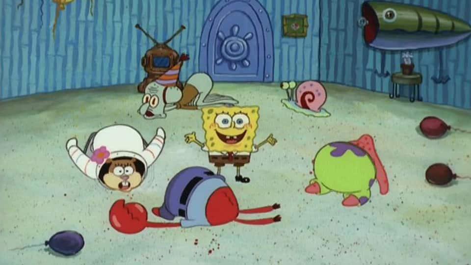 SpongeBob krog op