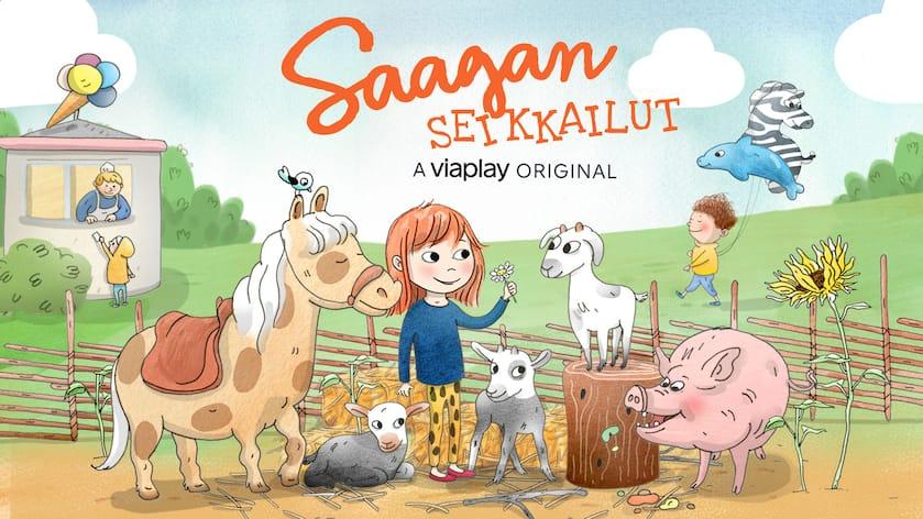 Saagan seikkailut - Lastenohjelmat ja lasten elokuvat